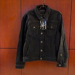 Brand New True Religion Black Jean Jacket
